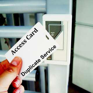 Duplicate Access Card Service For Door Access System In